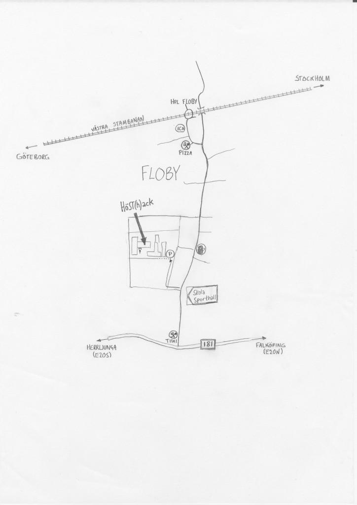 Karta till hacklokalen